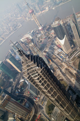 上海環球金融中心から