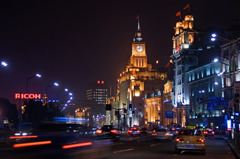 上海・蘇州の夜