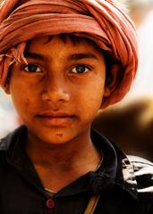 インドの少年