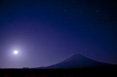 月光と流星