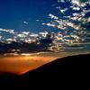 仁科からの夕日