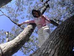 木 空 子供
