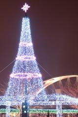 豊田大橋とツリー