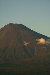 くっきり富士山