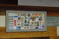 古切手のアート風 その2