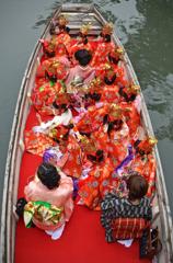 水の郷柳川の雛祭り 3