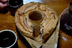 シナモンシフォンケーキ