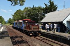 運行開始した南阿蘇鉄道 4