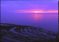 能登の夕陽 2