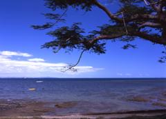 海と空の色