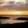 海と黄昏時