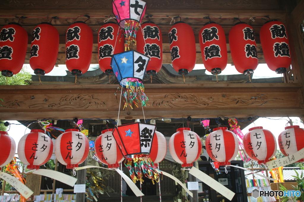 七夕神社です