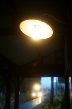 改札の灯り