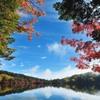 七色の池畔