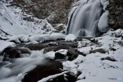 浅間大滝冬景色