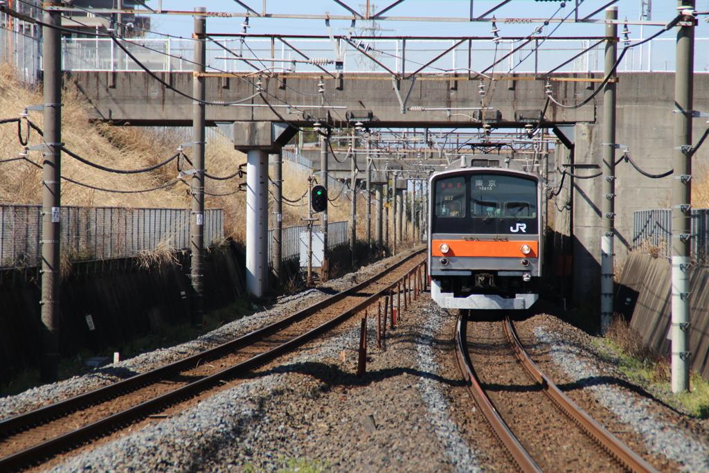 東川口駅にて