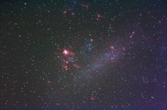 大マゼラン雲内タランチュラ星雲