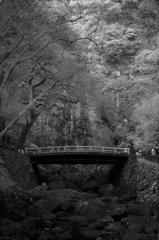 箕面の滝全景