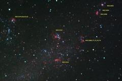 大マゼラン雲内NGC1910付近