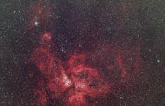 イータカリーナ星雲(NGC3372)焼き直し