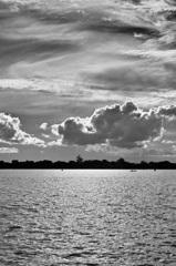 グアイバ河にて