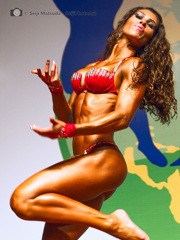 Fitness Beauty in BB Contest