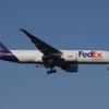 早朝成田FedEx B777