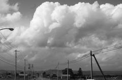 発達した雲