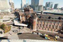 KITTEから東京駅を撮影