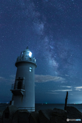 Milky Way and Lighthouse
