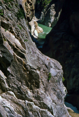 黒部峡谷 下ノ廊下 白竜峡