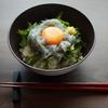 ◆うえだ食堂101 生しらす丼