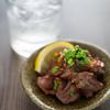 ◆うえだ食堂154 砂肝のニンニク炒め