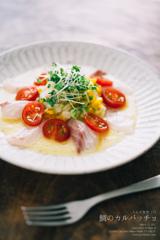 ◆うえだ食堂172 鯛のカルパッチョ