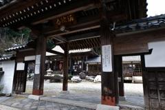 酒波寺 山門