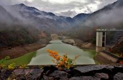 宇曽川ダム湖