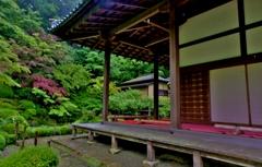金剛輪寺明寿院東庭