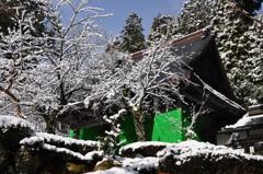 雪景の石道寺