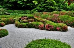 小堀遠州作庭の蓬莱庭園