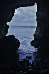 Sunny Jim Sea Cave(ラホヤコーブの洞窟)2-1