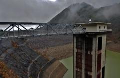 ロックフィルダム(宇曽川ダム)
