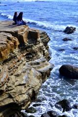 ポイントロマの断崖