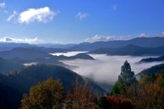 秋晴れの雲海