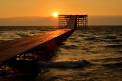 もうすぐ鳥人間が琵琶湖に帰って来る