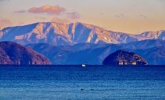 奥琵琶湖冬景