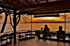 夕景カフェ