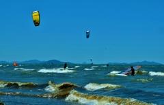 風波のウォータースポーツ