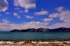 春誘う湖北風景