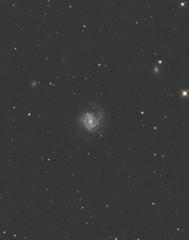 月夜の銀河
