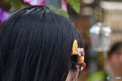 眼鏡と髪飾りと・・・風鈴市